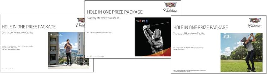 Cadillac Bonus Signs Image