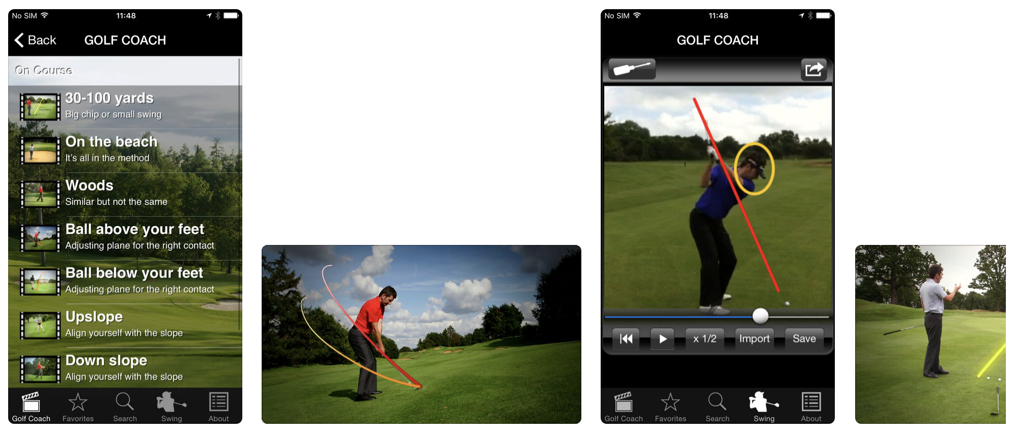 Golf Coach App