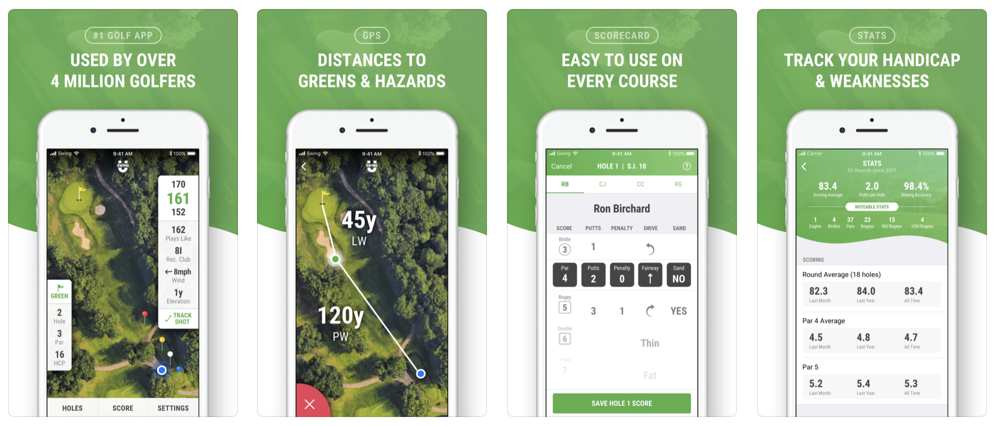 Golf GPS App