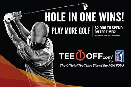 TeeOff.com bonus prize partner